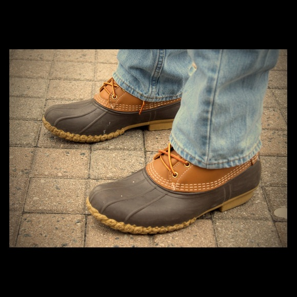 e696910abd4 Men's Bean Boots by L.L.Bean Gumshoe NWT